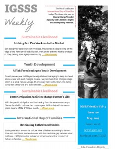 IGSSS Weekly, Issue 20, May 2015