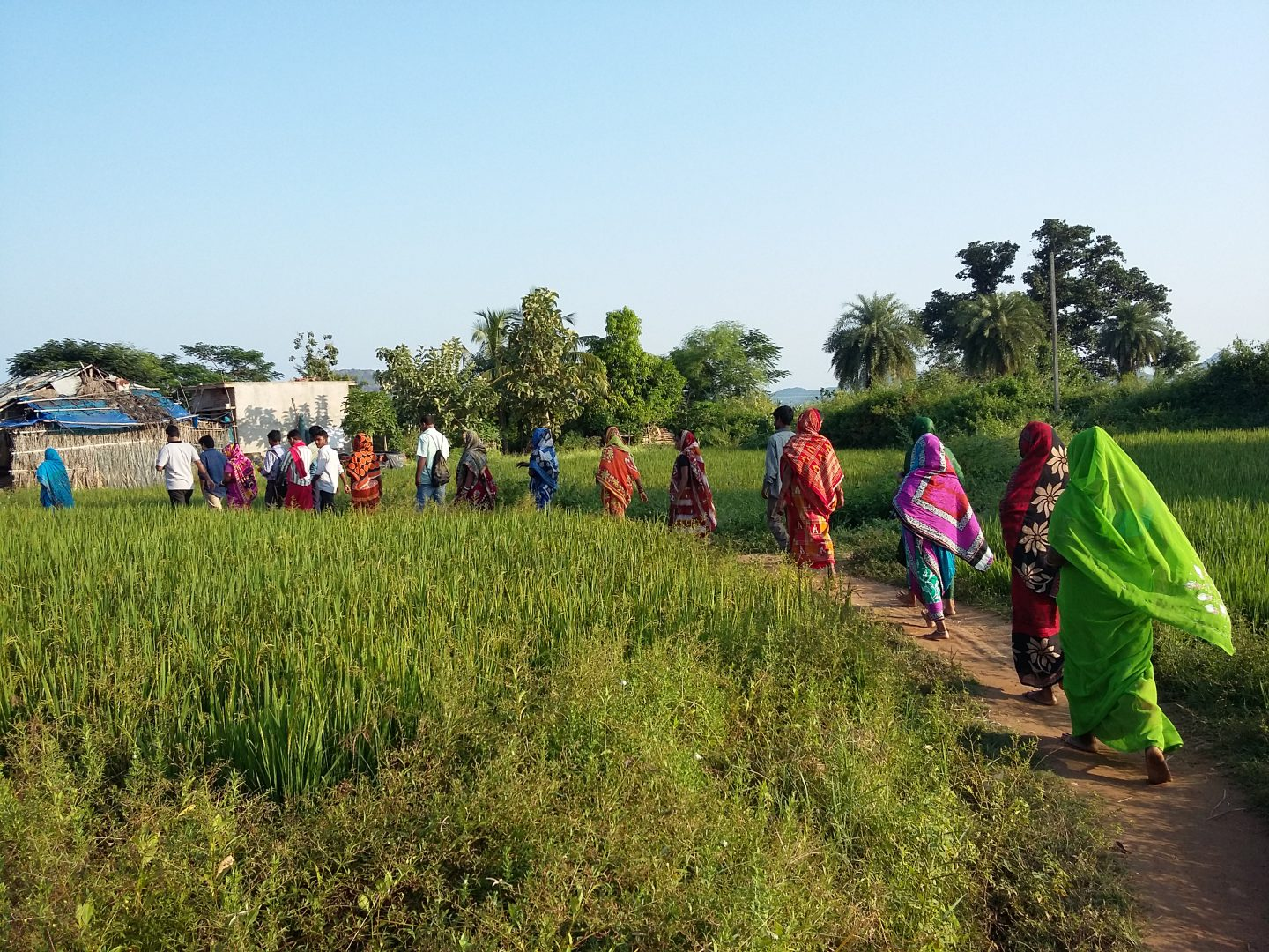 Transforming lives of disaster affected Communities