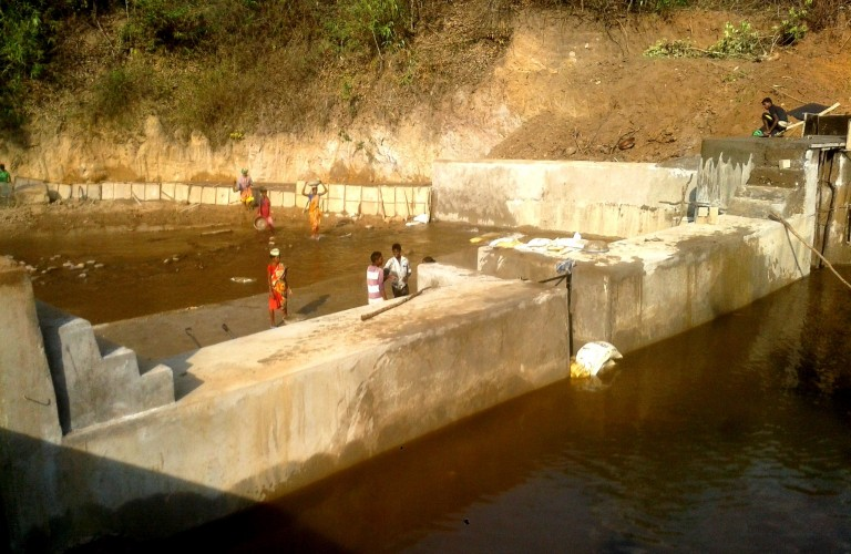 Village Action Team in Rayagada mobilized funds for Check Dam