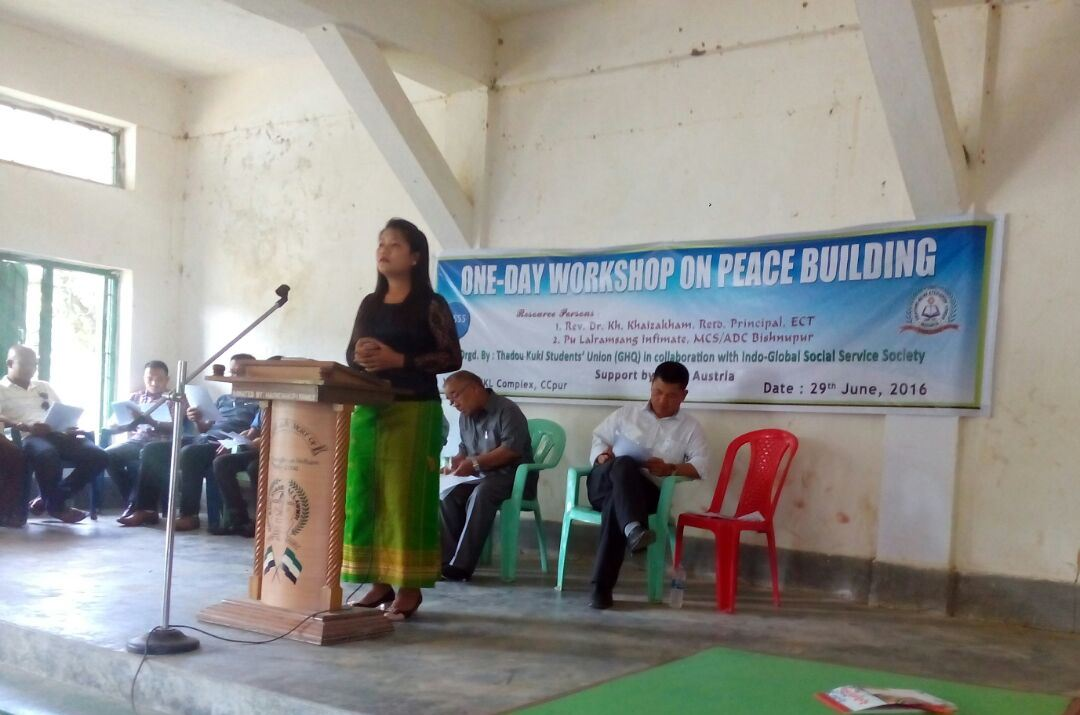 Peace Building with Youth – Workshop