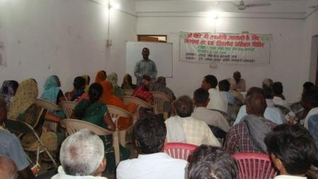 Training on System of Rice Intensification