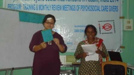 Training on Psycho Social Care for Community Representatives