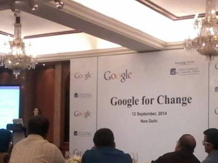 Workshop on Google for Change