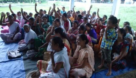 Interface Meeting with Women Federation Members in Assam