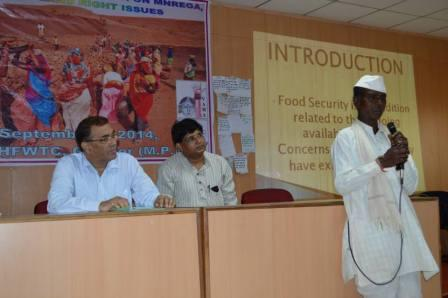 State Level Consultation on PDS, MGNREGA and Land Rights