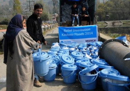 Relief and Rehabilitation Measures post the Kashmir Floods