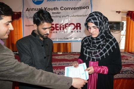 Annual Youth Convention in Kashmir