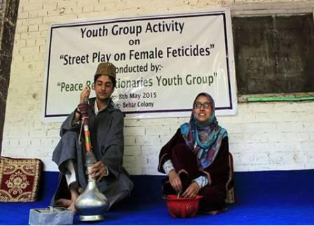 Awareness Generation on Female Foeticide through Street Play
