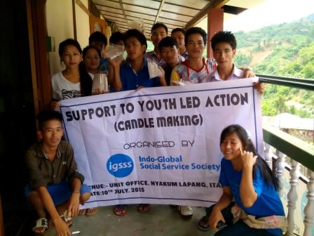 Training on Candle Making for Youth