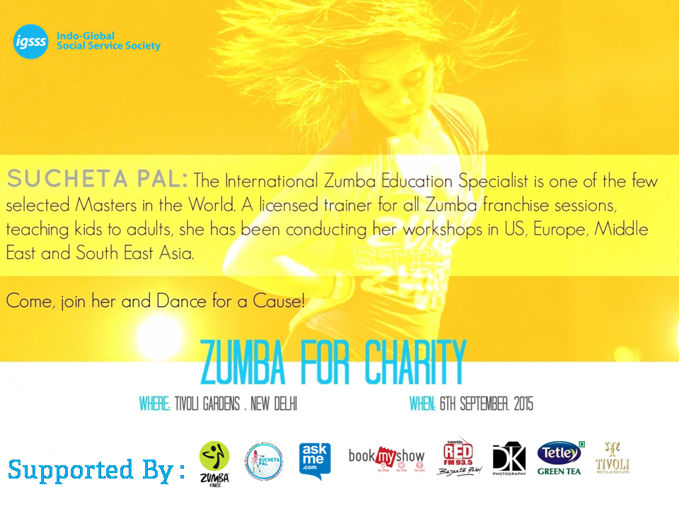 ZUMBA FOR CHARITY