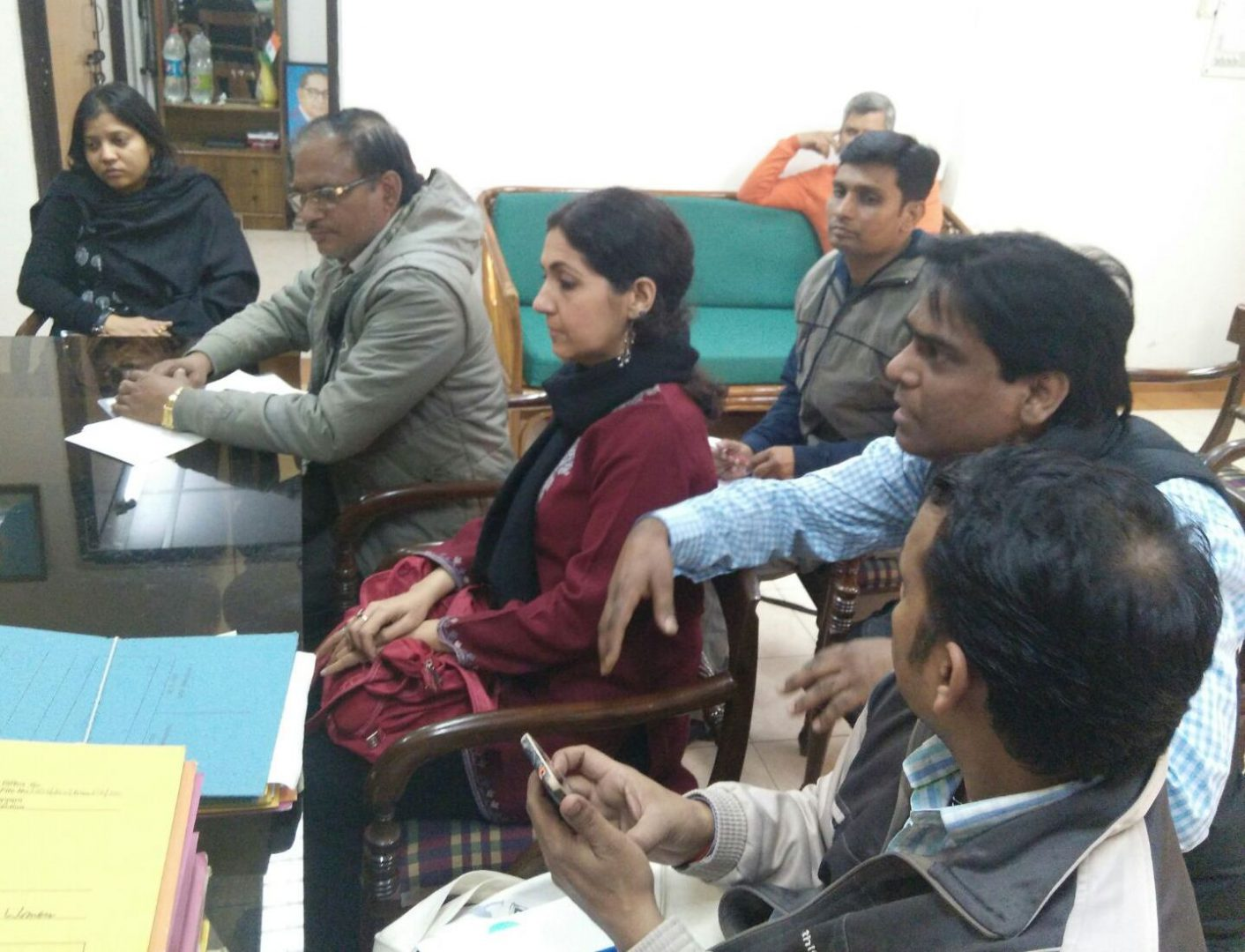 Meeting with DCW Official for Rehabilitation of Urban Homeless