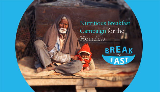 Break The Fast - Winter Campaign
