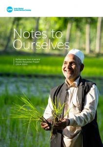 Notes to Ourselves – Reflections from Kashmir Floods Response