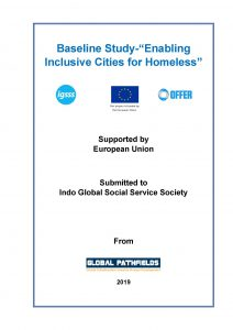 Baseline Study – 'Enabling Inclusive Cities for Homeless'
