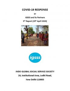 COVID-19 Response by IGSSS and its Partners – Fifth Report