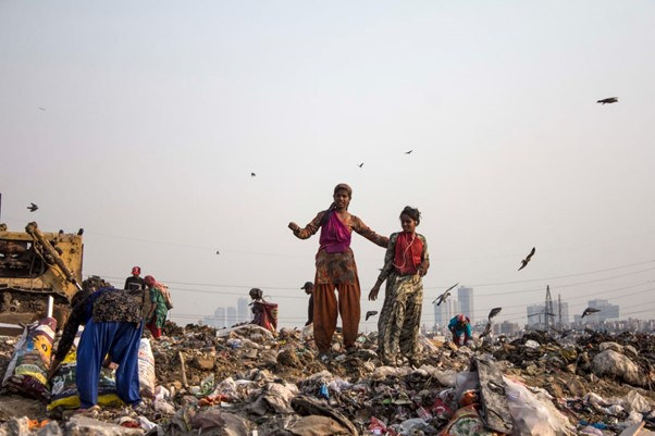 Giving Youth a Chance to Tackle the Waste Problem of India